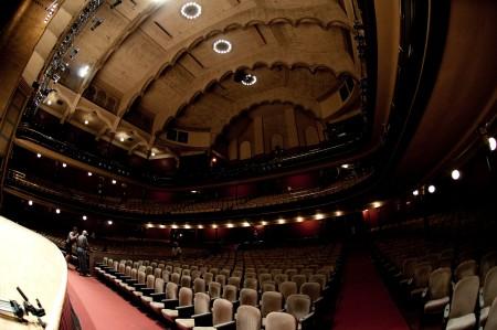 An Empty Massey  Hall